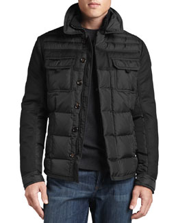 Moncler Blais Quilted Two-Pocket Jacket