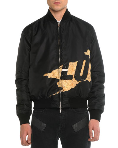 Reversible Love Bomber Jacket, Black