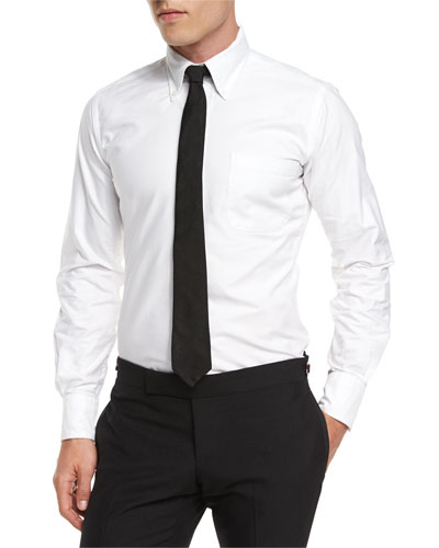 Oxford Dress Shirt, White