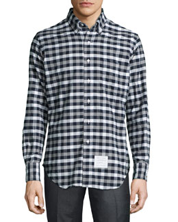 Madras Check Oxford Shirt