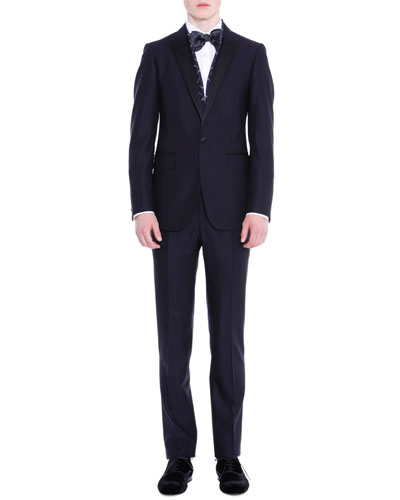 Attitude One-Button Tuxedo, Navy