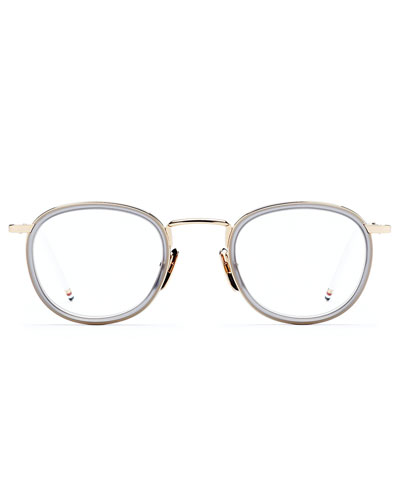 12K Gold Round Vanity Glasses