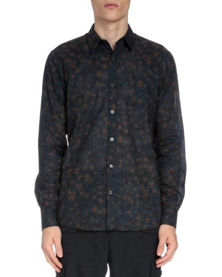 73de0a711200 Dries Van Noten Leopard-Print Button-Down Shirt