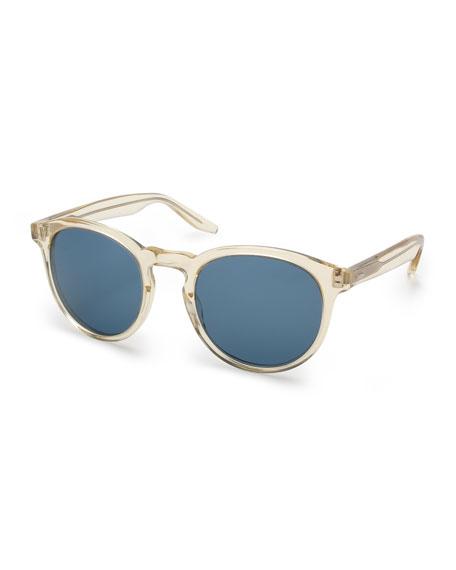 Barton Perreira Goodman Acetate Sunglasses, Champagne