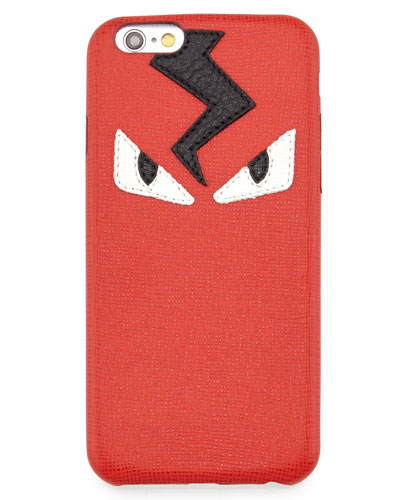 Monster Eyes iPhone 6 Cover, Red