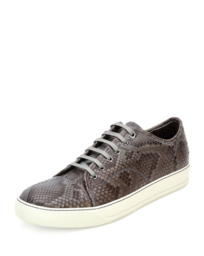 Python Low-Top Sneaker, Gray