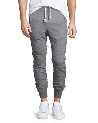 Escobar Slim-Fit Sweatpants, Dark Gray