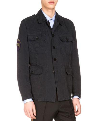Baez Patch Field Jacket, Navy