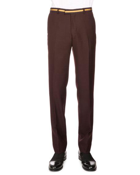 Pantalon Bande De Pelage Brun Sèche Van Noten 9a9qnRHbH
