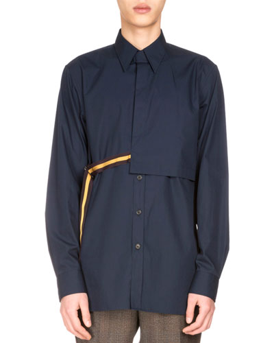Curtis Taped Gunflap Shirt, Midnight