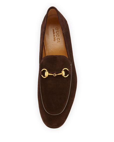 54747e7b Brixton Suede Horsebit Loafer Brown