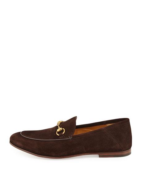 Brixton Suede Horsebit Loafer, Brown