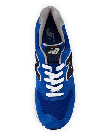 Men's 400 Explore By Air Suede Sneaker, Blue/Black