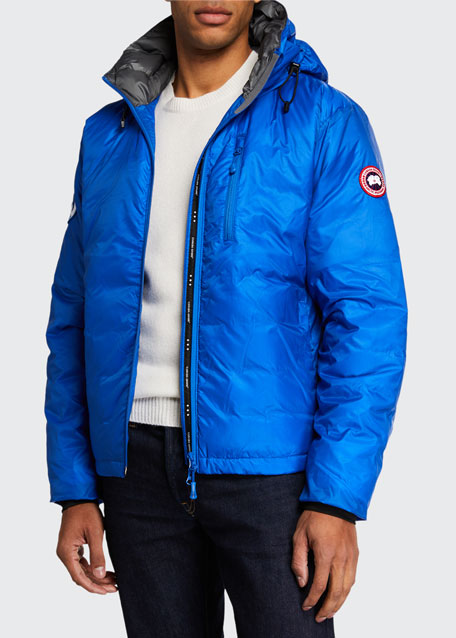 Canada Goose PBI Down-Fill Lodge Hoodie Jacket, Royal