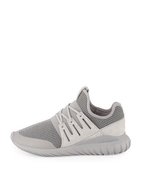 Men's Tubular Radial Trainer Sneaker, Gray