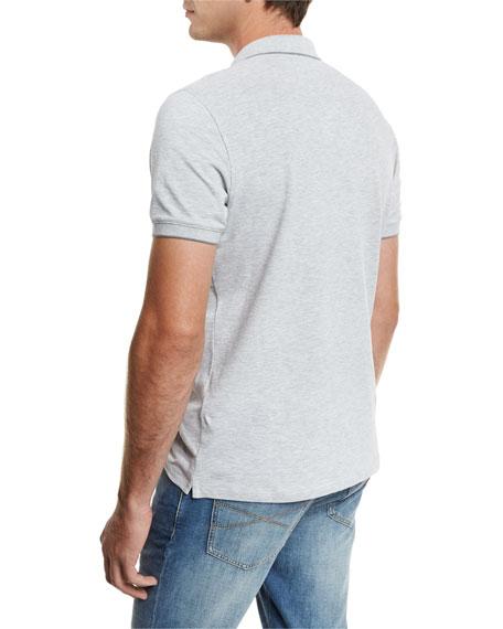 Tipped Spa Piqué Polo Shirt