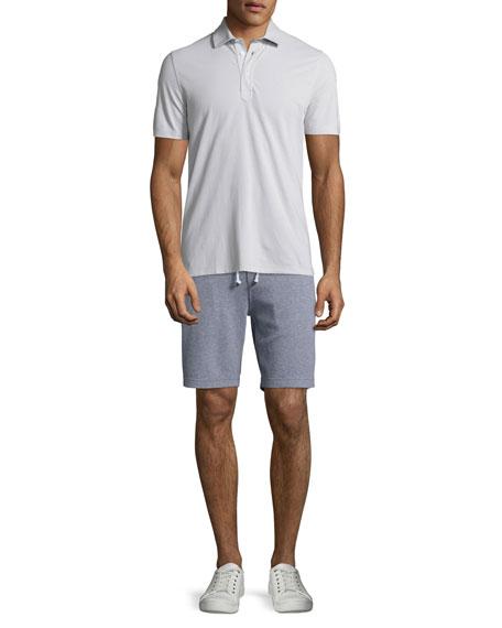 Cotton Spa Shorts, Gray
