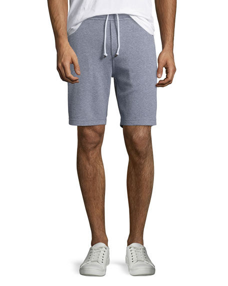 Cotton Spa Shorts, Gray