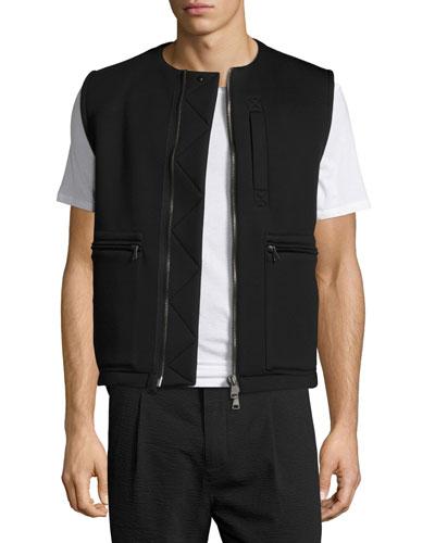 Flack Neoprene Vest, Black