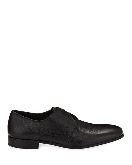 Calf Leather Dress Oxford, Black
