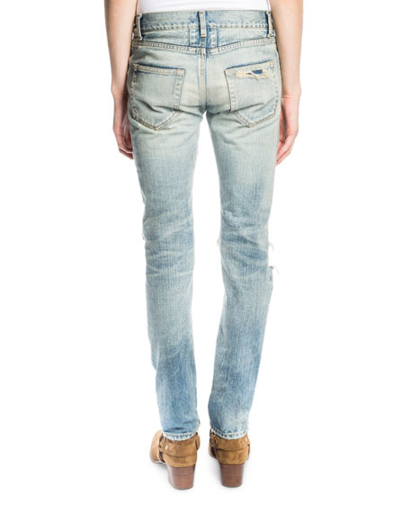 Low Waist Skinny Jean Saint Laurent Cheap For Cheap Pay With Paypal Cheap Price High Quality udMP8to