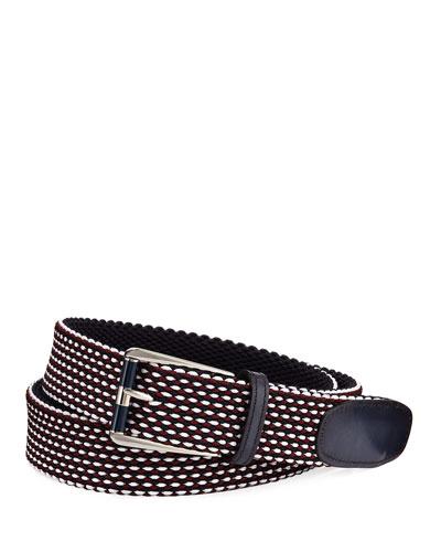 Seniro Tricolor Knit Belt