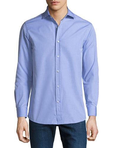 Men's Bond End-on-End Dress Shirt