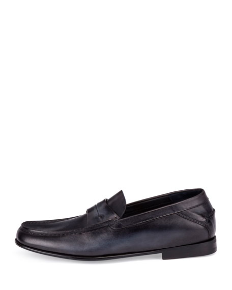Gaspard Conduit College Loafer, Black