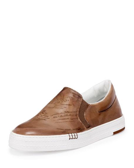 Berluti Playtime Van Scripoto Slip-On Sneaker