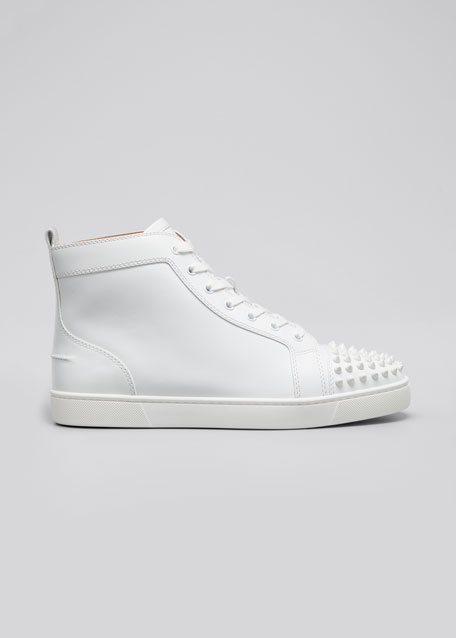 f3e7af3f0825 Christian Louboutin Men's Lou Spikes High-Top Sneakers