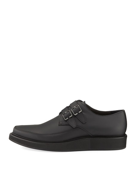 Double-Monk Creeper Shoe