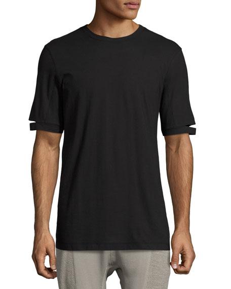 Standard-Fit Cut-Sleeve T-Shirt