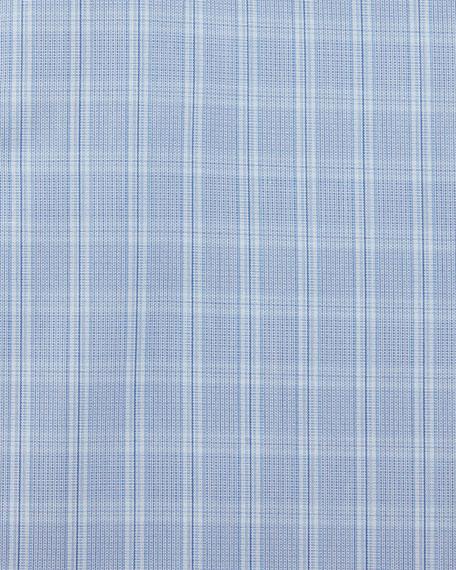 Box Check Dress Shirt, Blue
