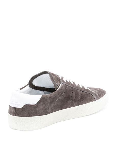 SL/06 Suede Low-Top Sneaker, Gray