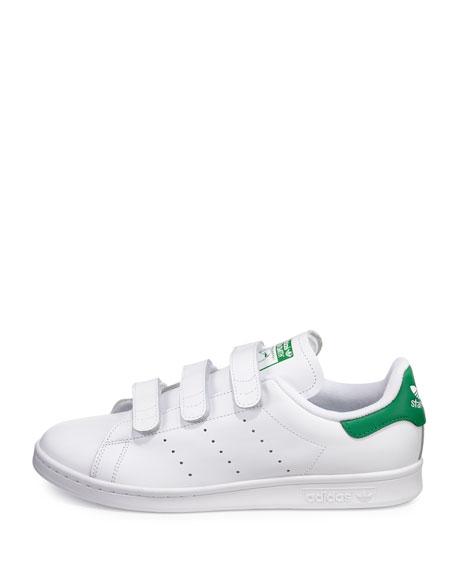 Adidas Men's Stan Smith Triple Strap Sneaker WhiteGreen