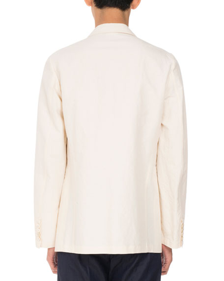 Bilboa Embroidered Jacket, Tan