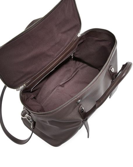 33882d6e33cf Giorgio Armani Deerskin Leather Weekender Bag
