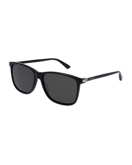 81442581e64 Gucci Acetate Square Sunglasses