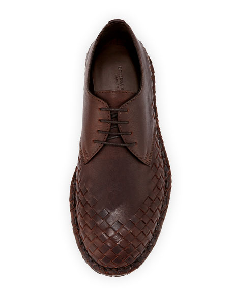 San Crispini Intrecciato Oxford Shoe