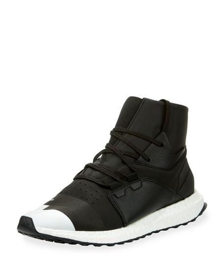Men's Kozoko High-Top Sneaker, Black/Silver