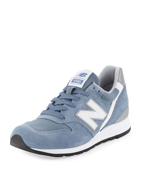 New Balance Men's 996 Age of Exploration Suede-Mesh