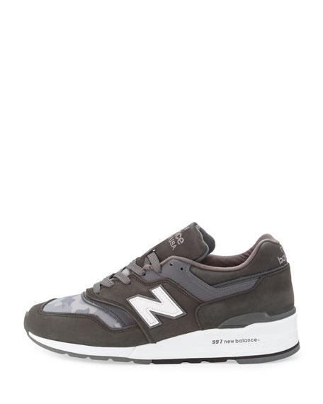 Men's Age of Exploration Distinct Camo-Print Sneaker, Gray
