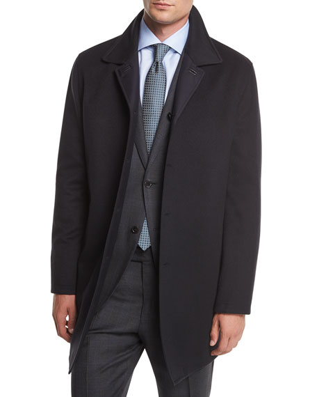 Reversible Wool/Cashmere Coat