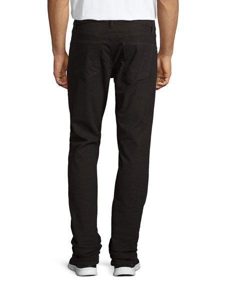 Men's Kane Straight-Leg Herringbone Melange Jeans