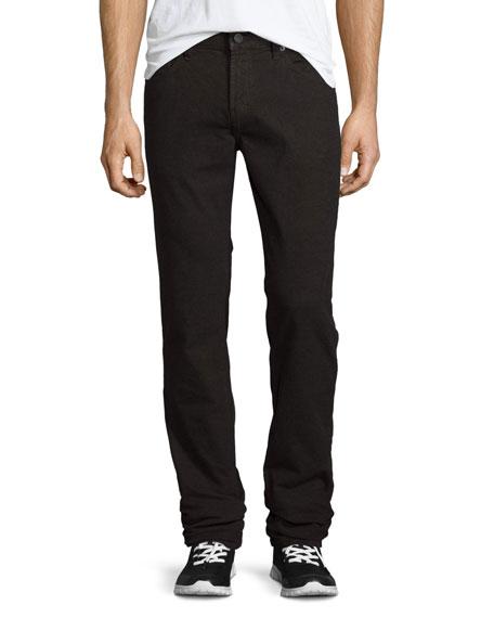 J Brand Men's Kane Straight-Leg Herringbone Melange Jeans