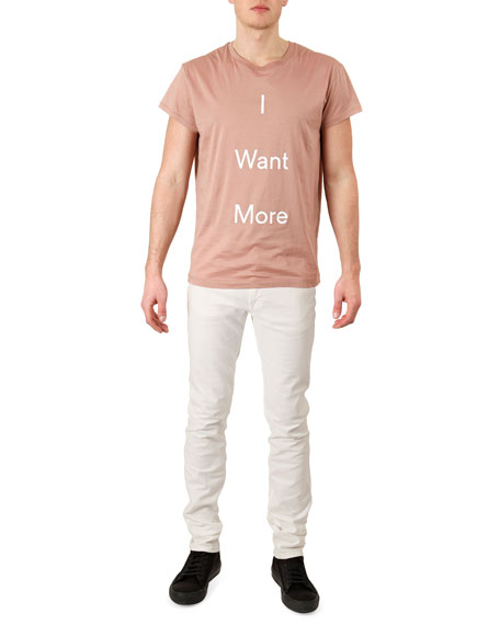 Ace White Denim Jeans