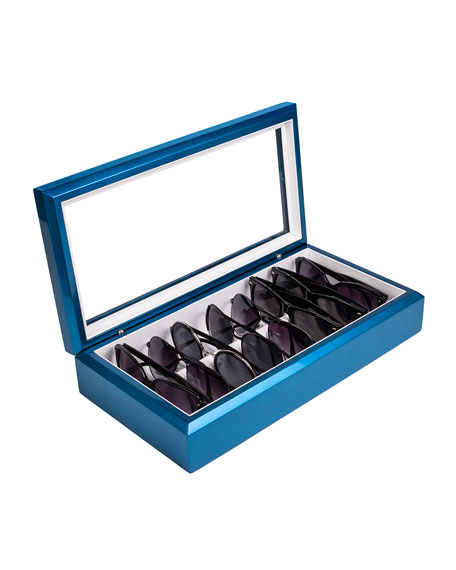 Eyewear Organizer Case, Blue