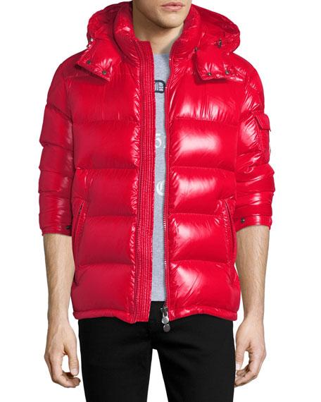 Maya Shiny Puffer Jacket