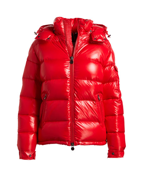 Maya Shiny Puffer Jacket