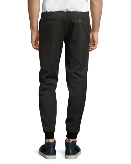 Multi-Pocket Relaxed Pants, Charcoal